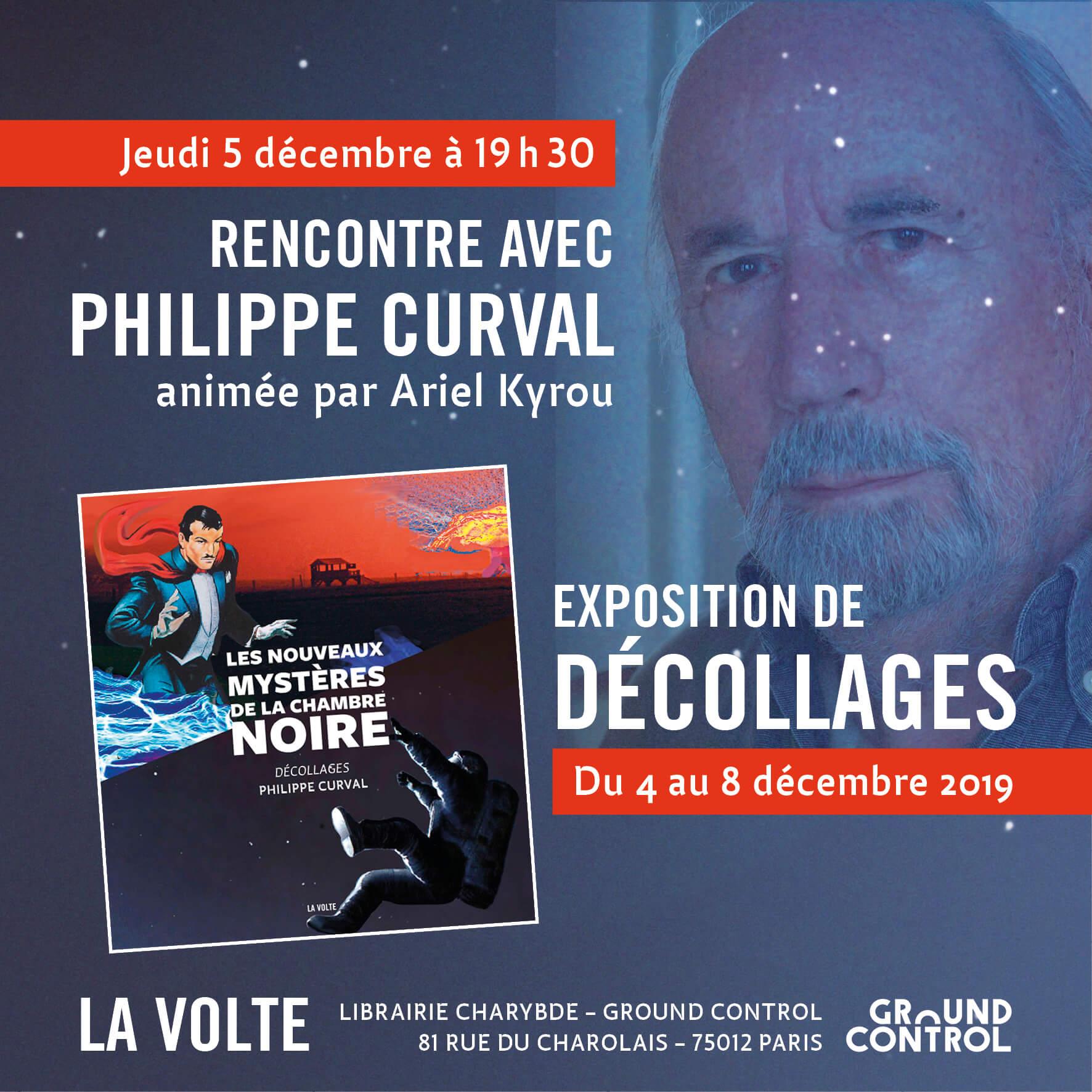 Rencontre avec Philippe Curval + Encombrants