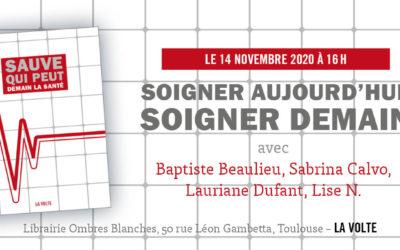 Demain la santé à la librairie Ombres Blanches (Toulouse)
