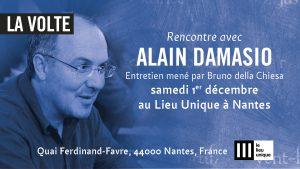Damasio à Nantes