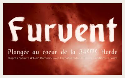 """[EN LIGNE] """"SOIRÉE DAMASIO"""" ET REDIFFUSION DE """"FURVENT"""" ADAPTATION DE LA HORDE DU CONTREVENT"""