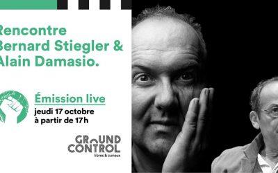 Bernard Stiegler et Alain Damasio : Révolution ou bifurcation