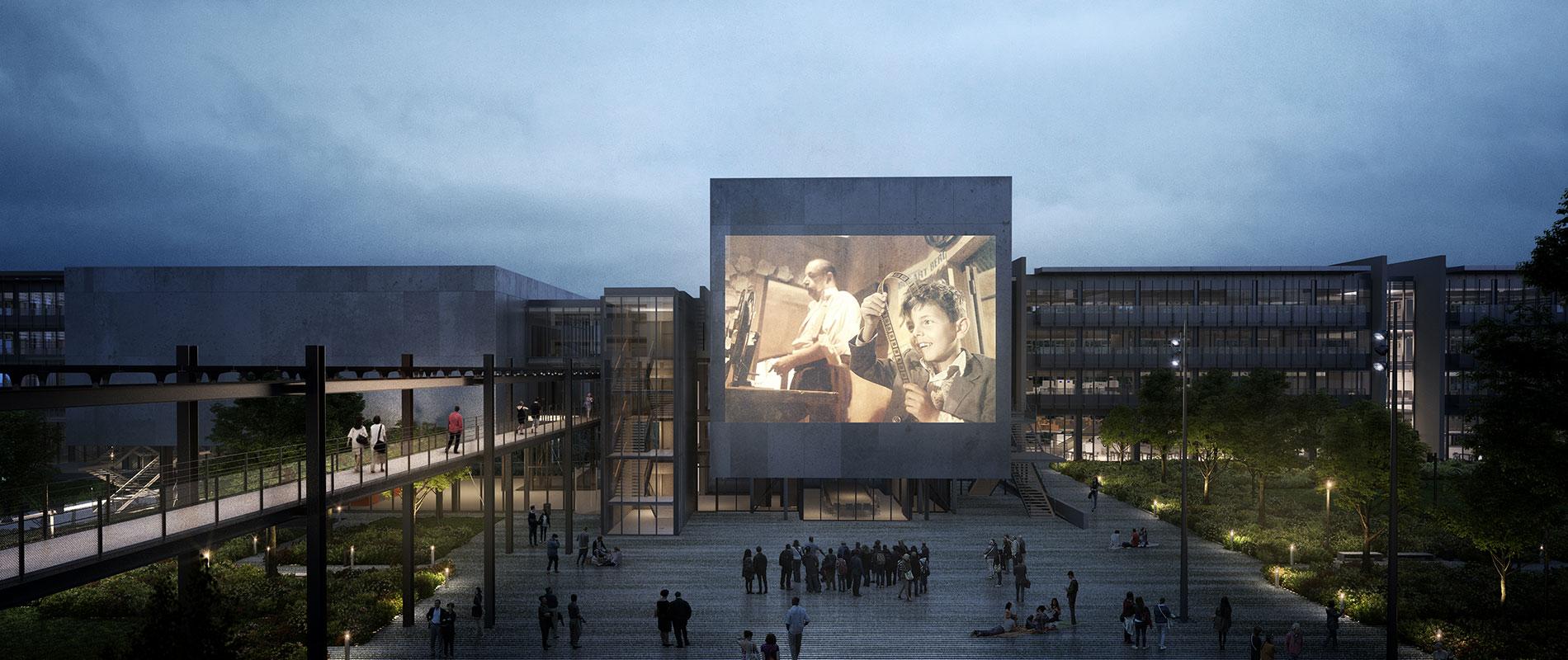 Alain Damasio à la Biennale des Arts Numériques NEMO