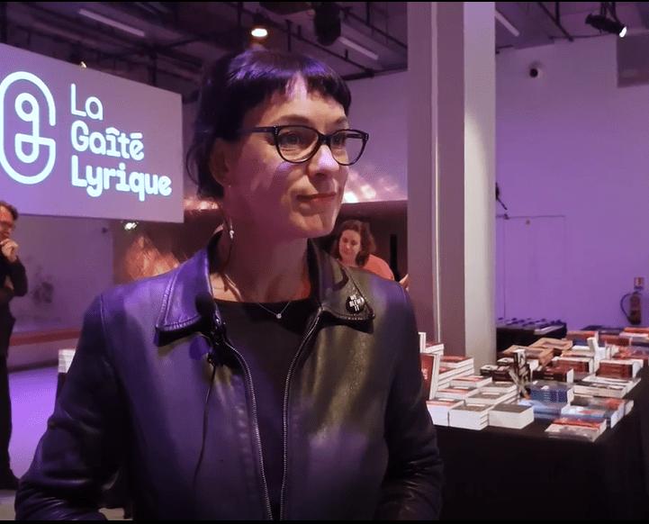 Corinne Morel Darleux à la Gaîté Lyrique, le 24 avril 2019