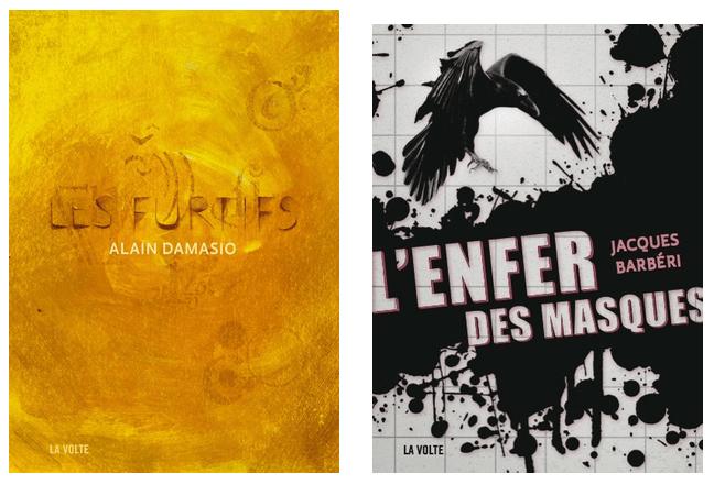 Jacques Barberi, Alain Damasio : de la soft SF