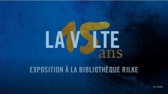 Les éditions de la Volte fête leurs 15 ans à la bibliothèque Rilke