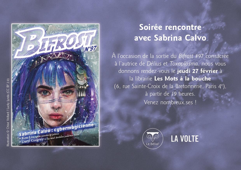 Soirée spéciale Sabrina Calvo