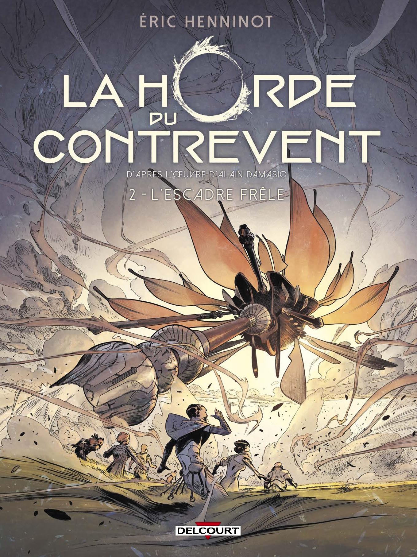 BD : Parution du tome 2 de La Horde du Contrevent