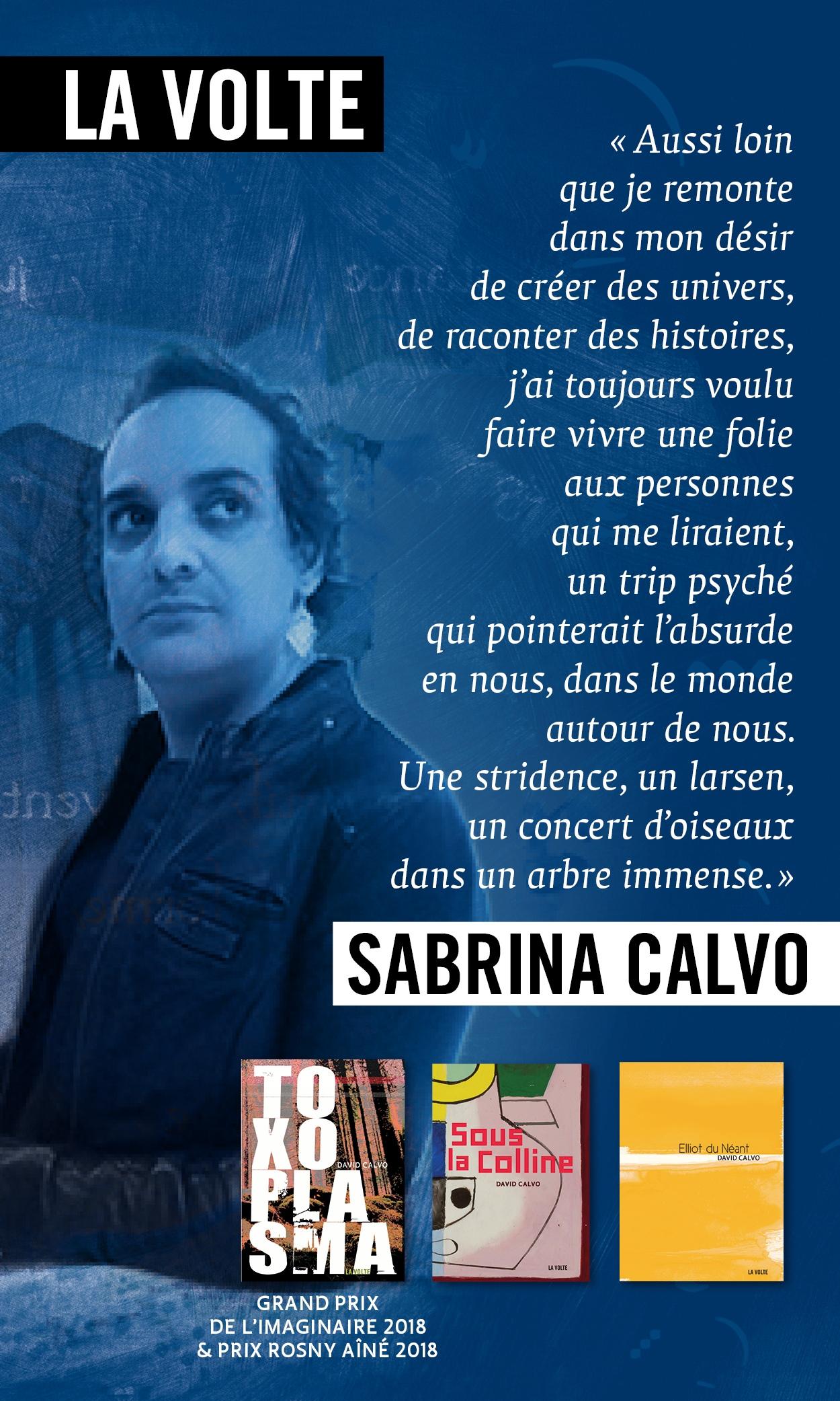 Sabrina Calvo - Mois de l'imaginaire