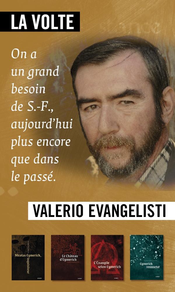 Valerio Evangelisti - Mois de l'imaginaire