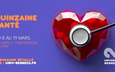 Demain la Santé A la Quinzaine santé de l'université Rennes 2