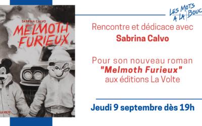 Sabrina Calvo aux Mots à la Bouche