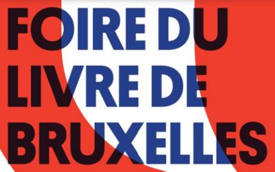 [INSCRIPTIONS OUVERTES] ALAIN DAMASIO À LA FOIRE DU LIVRE DE BRUXELLES