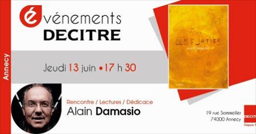 Alain Damasio à Annecy