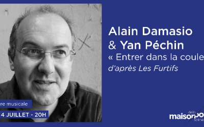 Alain Damasio, Yan Péchin & Mood à Paris