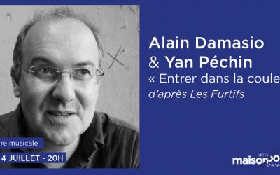 Alain Damasio, Yan Péchin & Mood à Paris