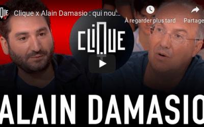 Alain Damasio sur Clique TV