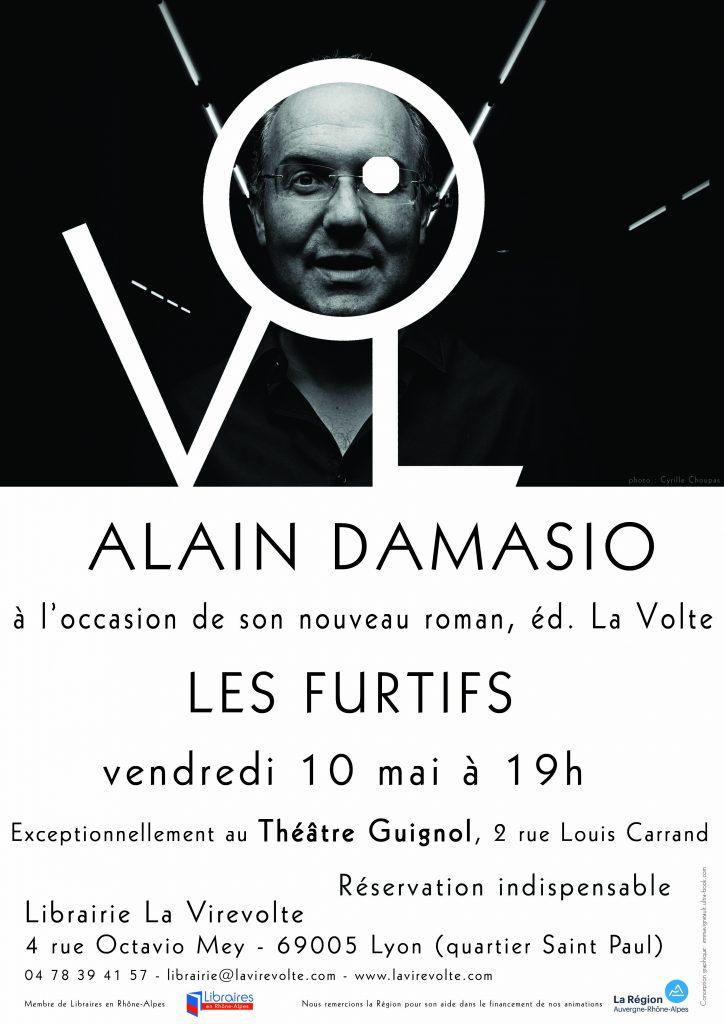 Alain Damasio à La Virevolte