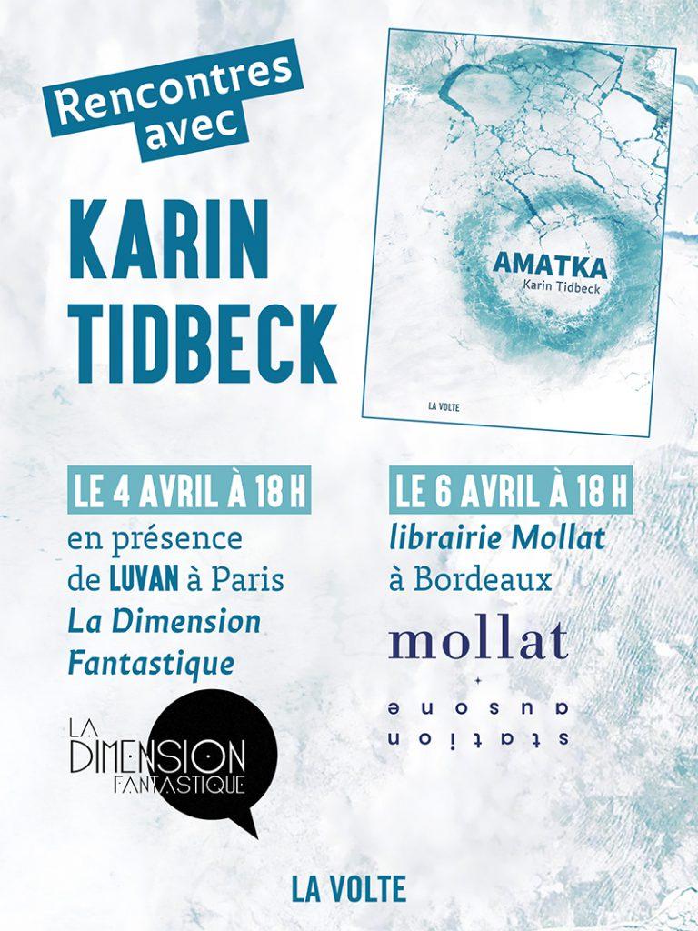 Karin Tidbeck à Bordeaux