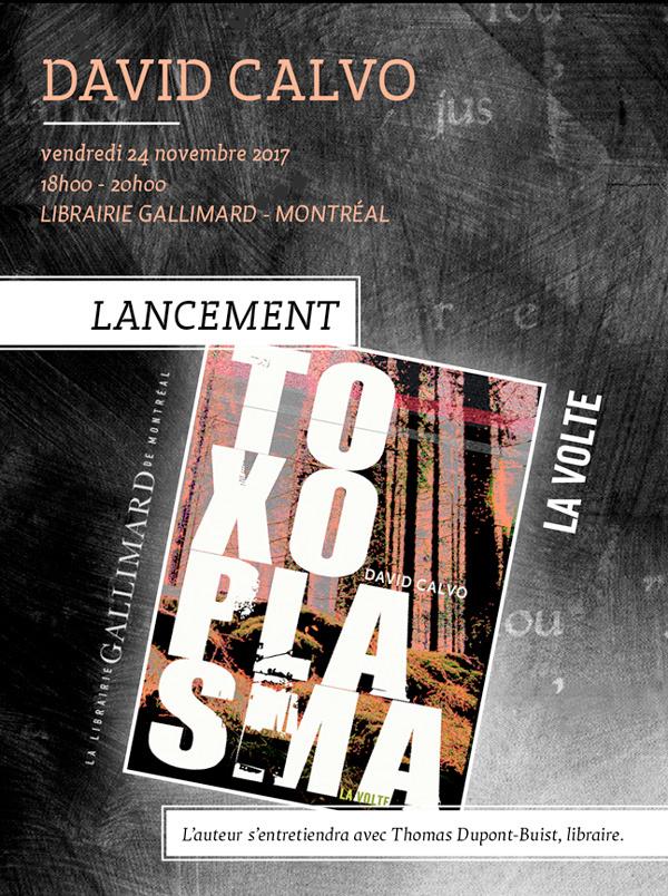 calvo Gallimard Montréal