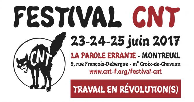 Demain le travail au Festival CNT