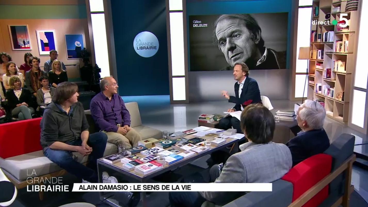 Damasio dans ta TV