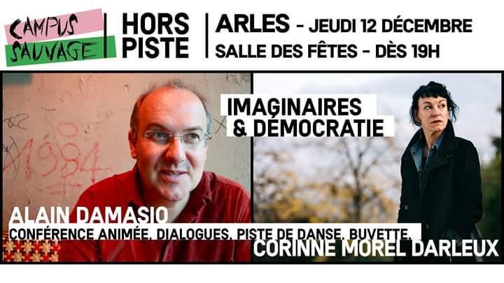 Campus Sauvage Le retour ! Avec les auteurs Alain Damasio et Corinne Morel Darleux