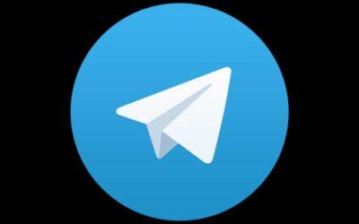 La volte débarque sur telegram