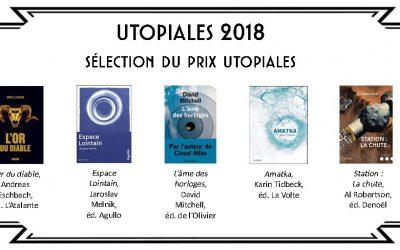 Amatka nommé pour le Prix Utopiales