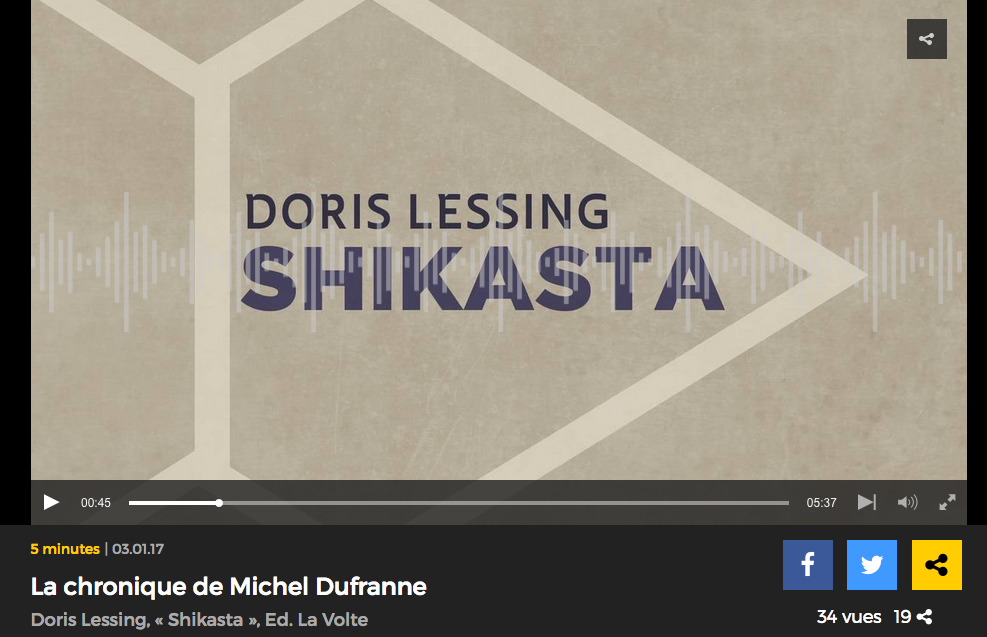 Chronique de Michel Dufranne