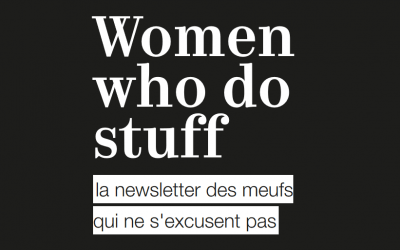 Sabrina Calvo dans la newsletter de Women who do stuff